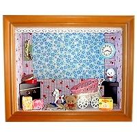 娃娃屋立體相框 嬰兒房 (4X6吋)